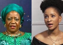 You are a disgrace – Banky W's wife, Adesuwa slams Buhari's aide, Onochie