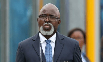 Why NFF president, Pinnick cried after Super Eagles' 4-4 draw with Sierra Leone