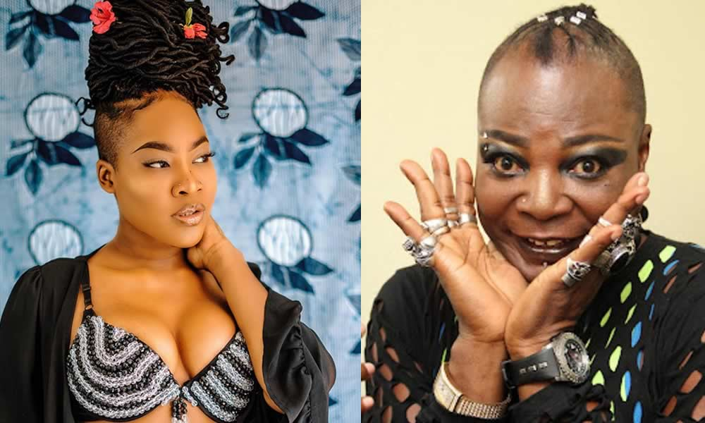 """""""You are a hypocrite""""- Dewy blasts her father, Charly Boy over post on her sexuality"""