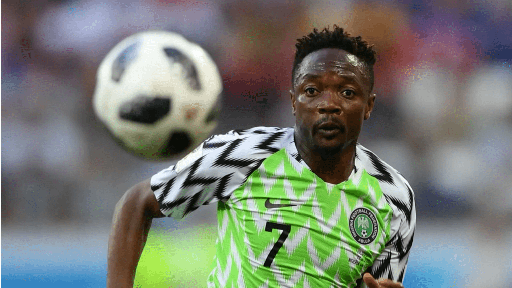 Ahmed Musa set to join Premier League relegation strugglers