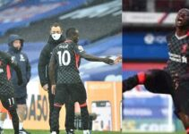 Crystal Palace vs Liverpool: Klopp reacts to Mane's angry reaction to being replaced by Salah
