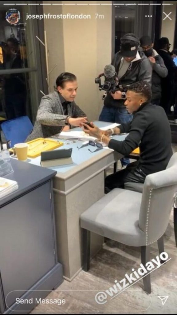 Wizkid Challenges Davido To Another Shopping Spree; Goes Diamond Jewellery Shopping A Day After Davido Went On His