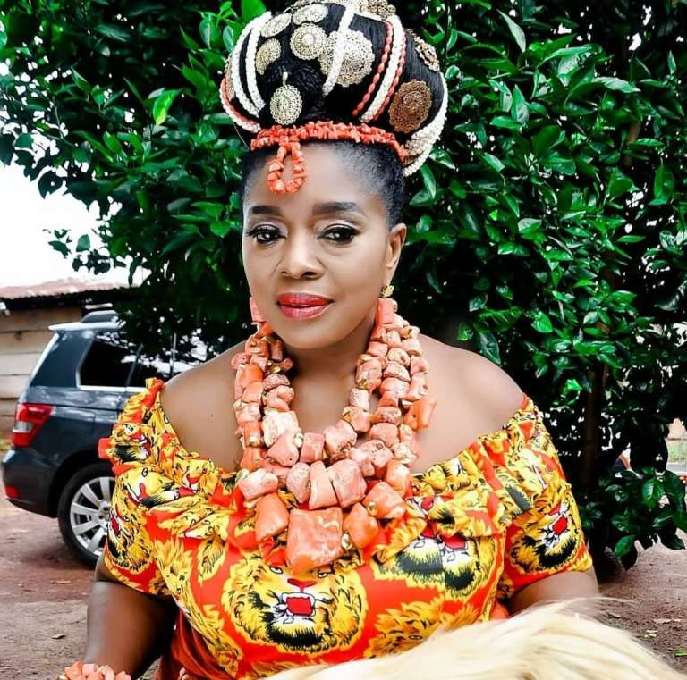 Rita Edochie shares photos of Prophet Odumeje's wife, reveals the source of his power