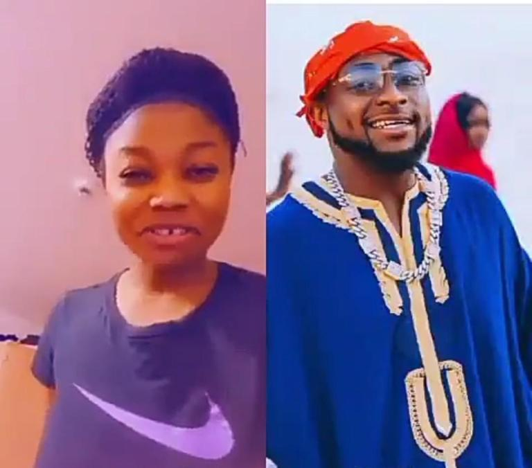 How Davido allegedly denied his daughter who looks like his late mother – Lady shares (Video)