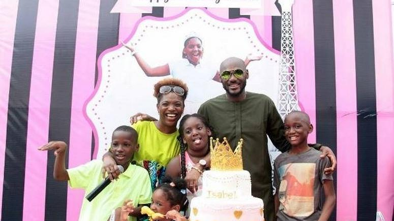 2Face Idibia Celebrates Daughter, Isabel On Her 12th Birthday