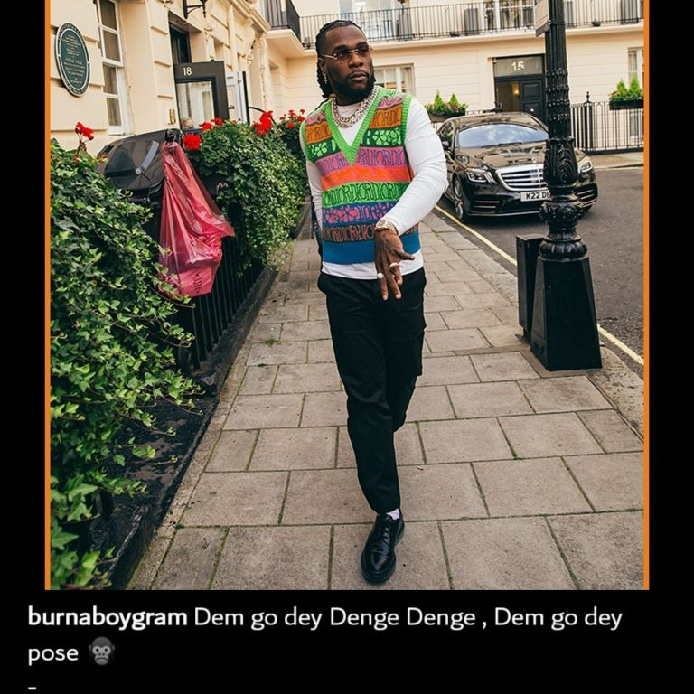 Netizens Blast Burna Boy For Acting Unbothered Amidst Cheating Allegations (Reactions)