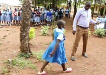 Primary school pulpil, Bridget goes viral after she was called out by her teacher, for breaking all the rules in school (Video)