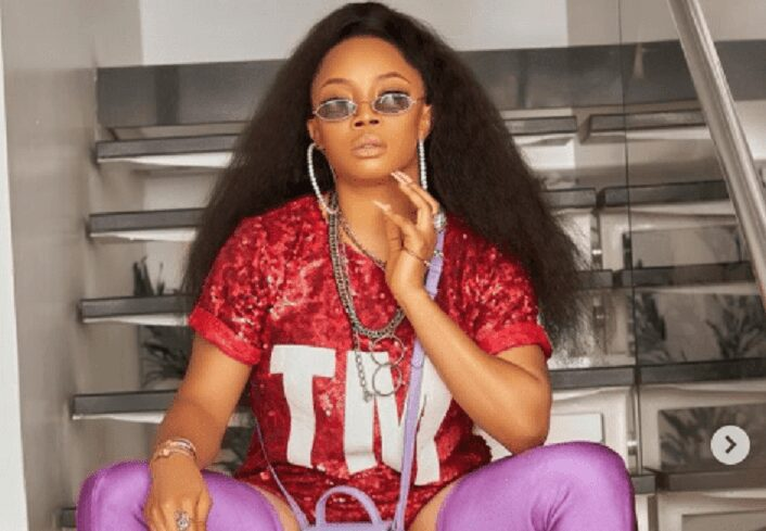 Nigerian radio personality and television host, Toke Makinwa, has caused stirs on social media with her recent post on instagram.