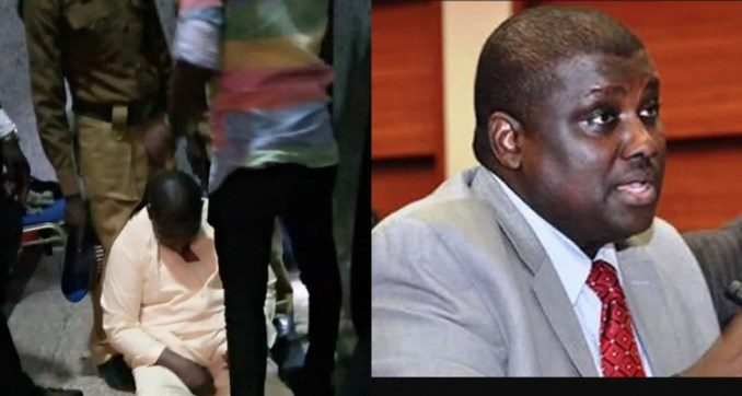 Breaking : Drama In Court As Popular Politician Abdurasheed Maina Faints Over N2bn Money Laundering Charges (photos/video)
