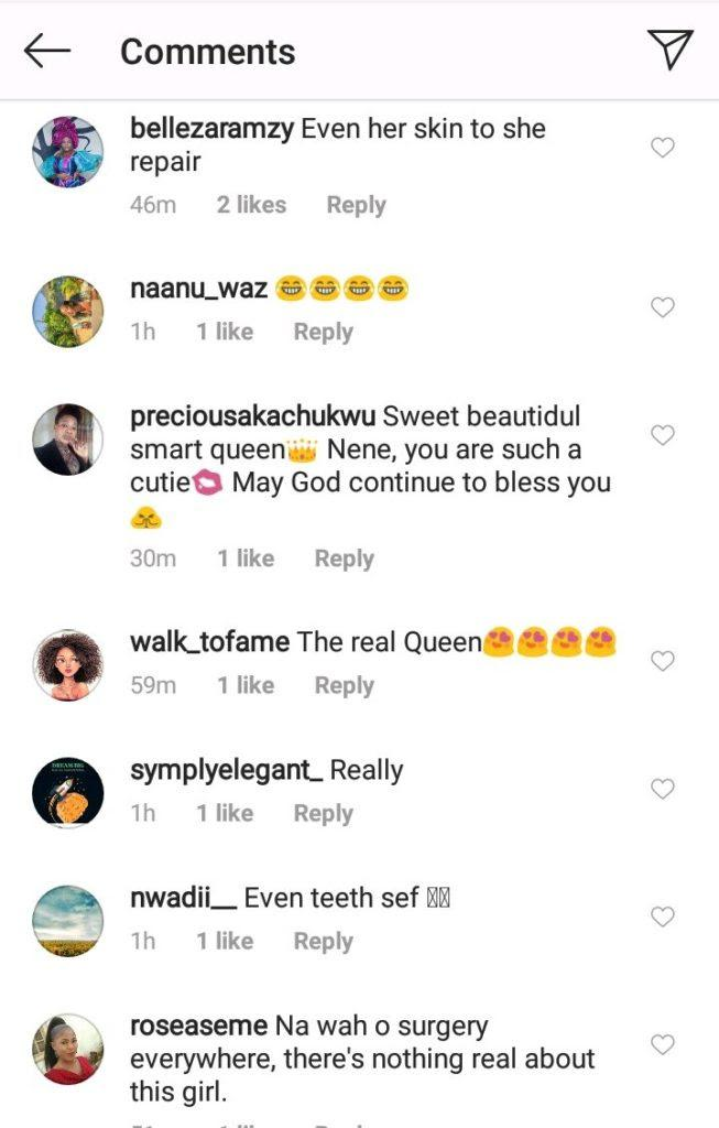 """""""You did dental surgery"""" – Fans accuses Nengi after her old photo surfaces"""