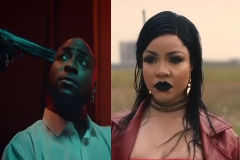 Few Hours After Featuring Nengi In His Music Video, Davido Gets Attacked By Erica And Dorathy's Fans For Not Choosing Them Instead