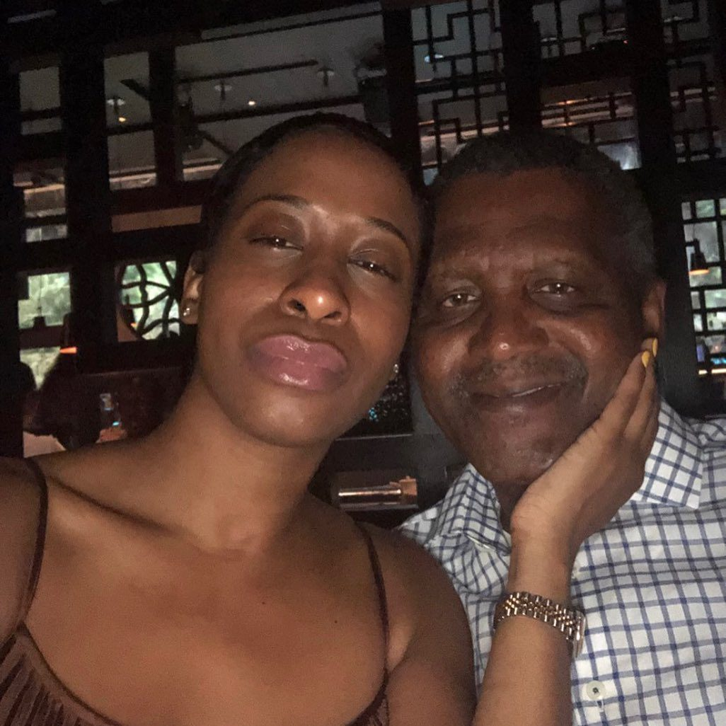 """""""He broke my heart in 1000 pieces."""" – Dangote's alleged side-chick, Bea Lewis writes."""