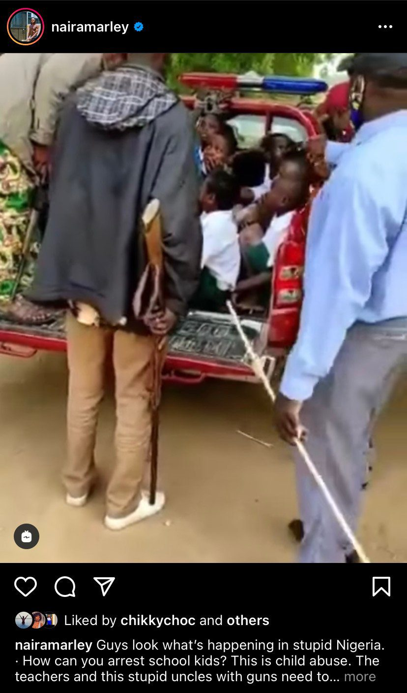 'Child Abuse' – Naira Marley reacts to arrest of school kids by Amotekun