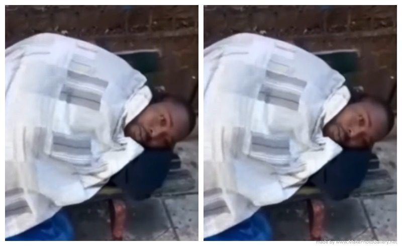Nigerian Man Thrown Out By His White Lover For Not Cooking – Video