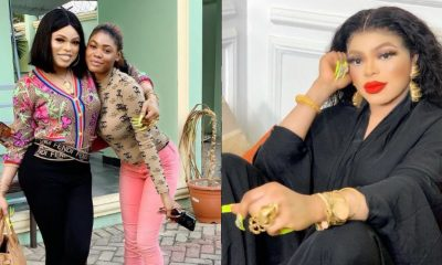 """""""I help people across the world"""" – Bobrisky says as he shares photo of adopted daughter"""
