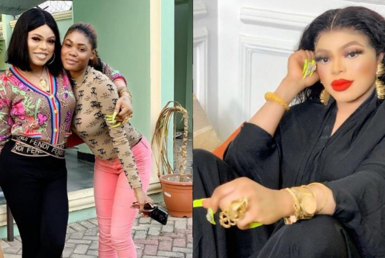 """I help people across the world"" – Bobrisky says as he shares photo of adopted daughter"