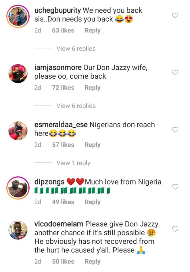 Don Jazzy reacts after his ex-wife, Michelle sent message to him (PHOTO)