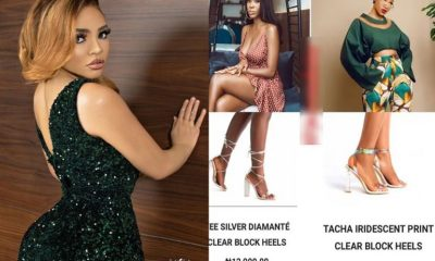 Nengi Names Shoes Collections After EX-BBNaija Housemates