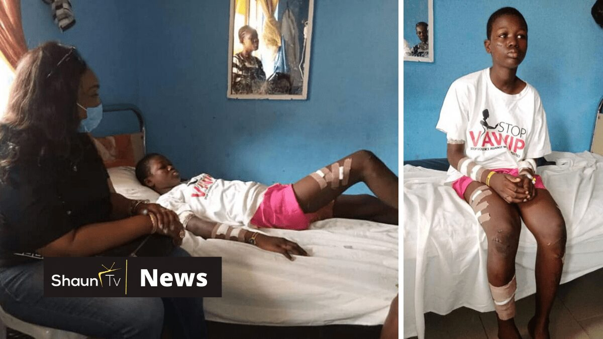 Woman slashes her 13-year-old daughter with razor blade over alleged theft of N1,500 in Bayelsa state (photo)