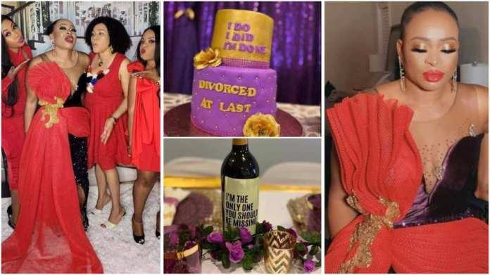 Woman throws herself a luxury divorce party