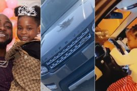 Davido Buys His Daughter Imade A Range Rover