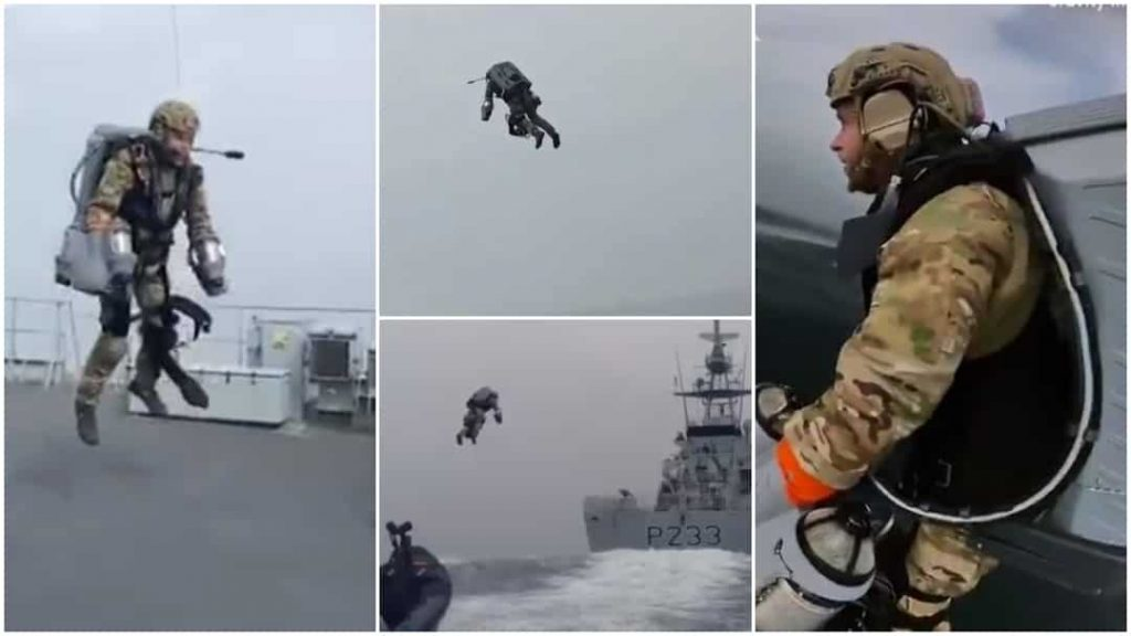 UK Army tests suit that can make their soldiers fly in the air, video goes viral