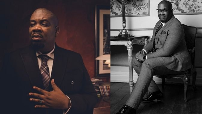 Don Jazzy Exposes Lady