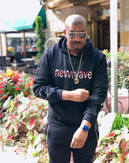 Don Jazzy shares make believe chat of his crush, Rihanna rejecting him (Screenshots)