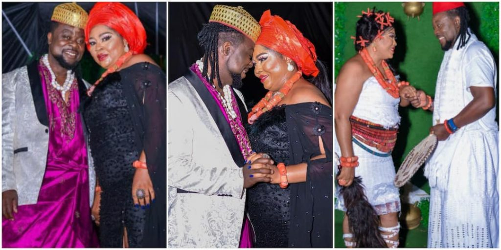 She Married Young Man, Gave Her Daughter Old One: Reactions As Regina Daniels Mum Reportedly Weds Younger Lover