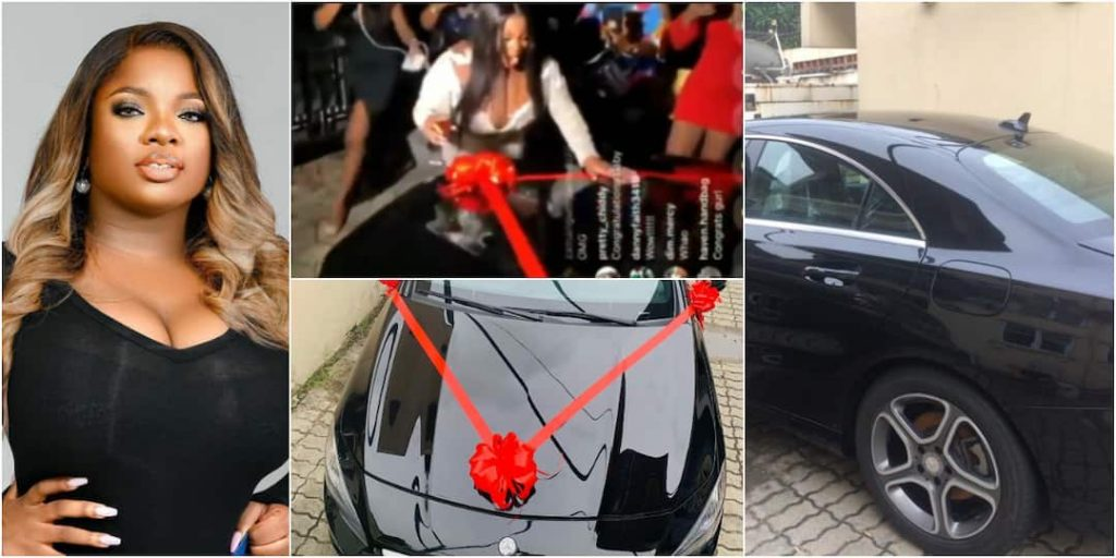 No more Uber - Dorathy says as she gets Mercedes Benz from fans on birthday