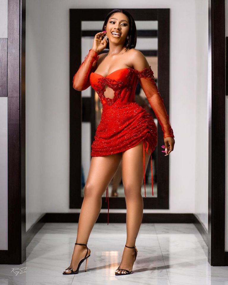 Reality star, Mercy Eke accused of snatching footballer, Aaron Samuel from wife