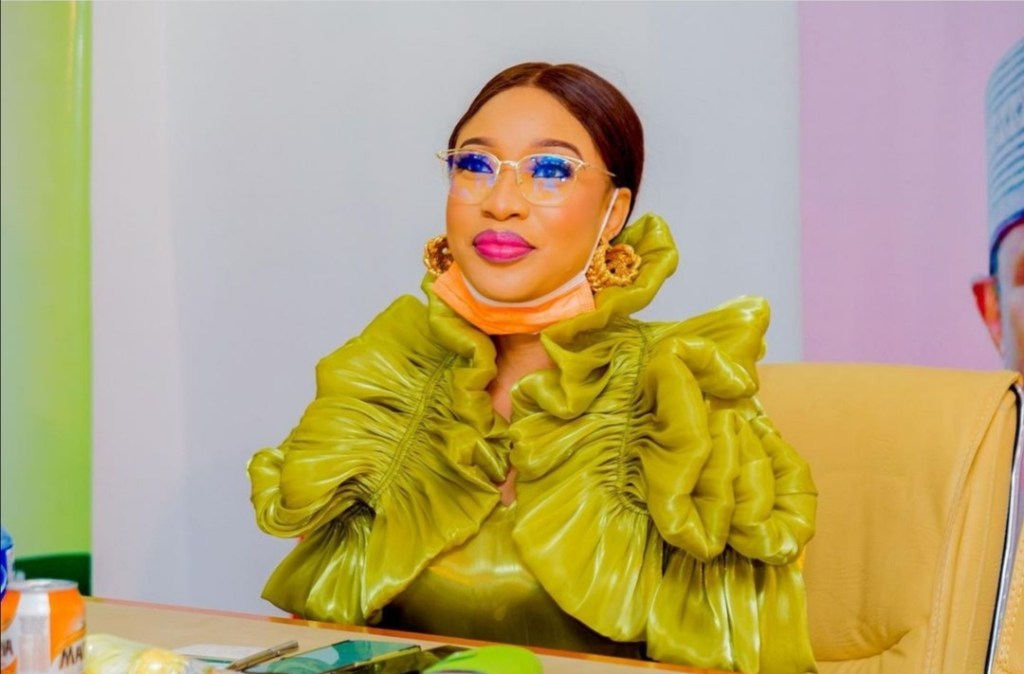 TBoss's Sister Goldie, Rebukes Rosy Meurer Over Her Reply To Tonto Dikeh