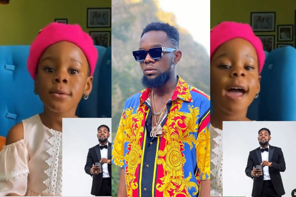 Watch As Patoranking Daughter Wilmer, Sings Birthday Song For Him (VIDEO)