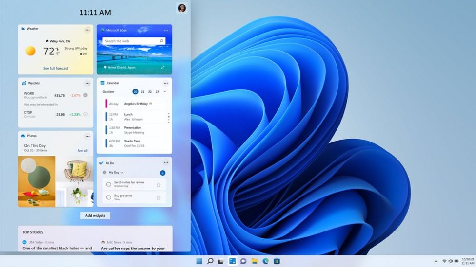 The Windows 11 operating system has been released by Microsoft
