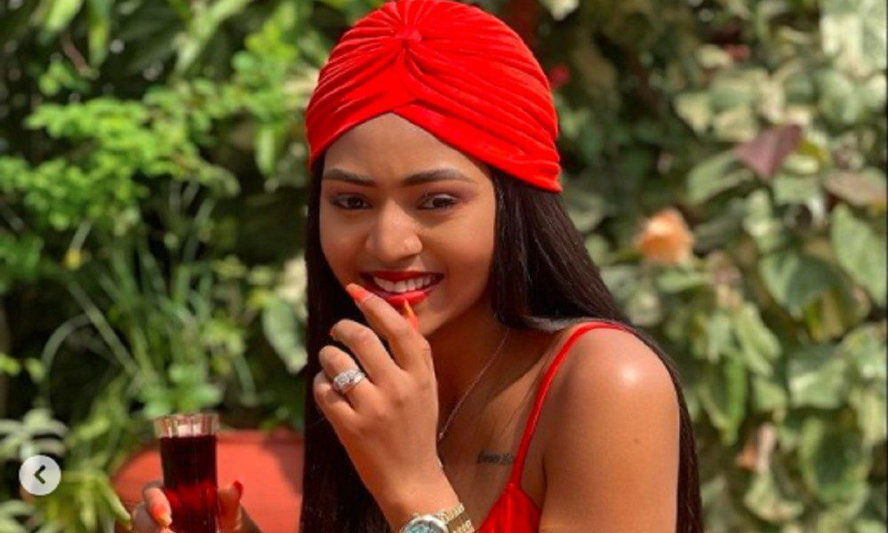 Regina Daniels Teases Her Fans With Some Rare Photos Of Herself