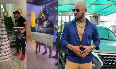 Actor Yul Edochie reacts